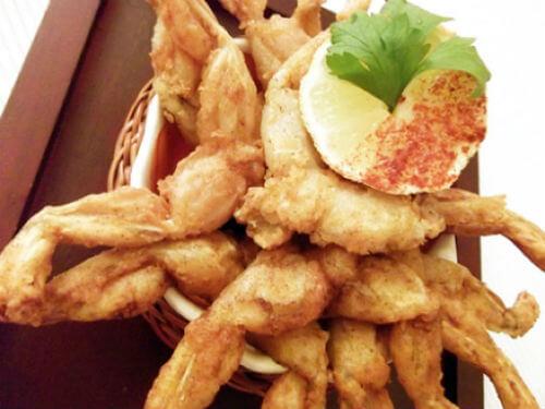 fritada de rana platillos raros méxico