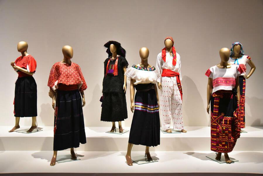 exposición el arte de la indumentaria méxico moda méxico