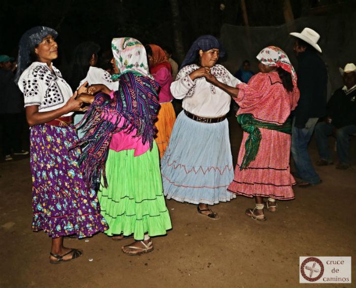 cruce de caminos tarahumaras visitan mixes