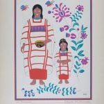 Carlos Mérida grabados serie trajes regionales mexicanos La original serie de grabados que Carlos Mérida hizo sobre lo