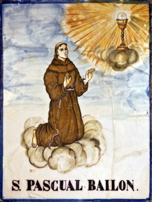 San Pascual Bailon, santo de la comida