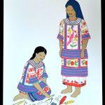 carlos mérida grabados trajes regionales mexicanos