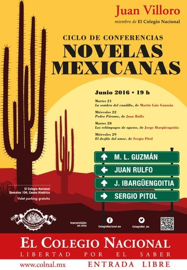 juan villoro conferencias sobre Novelas Mexicanas del Siglo XX