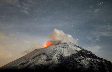 volcanes activos en méxico popocatépetl