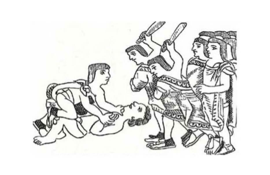 justicia mexica castigos mexicas embriaguez