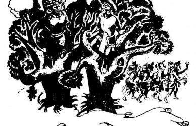 árbol de apoala grabado anónimo