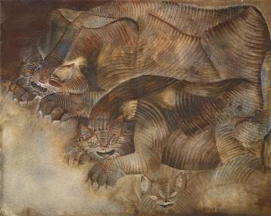 francisco toledo pinturas animales fantásticos nahuales