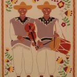 grabados carlos mérida trajes mexicanos