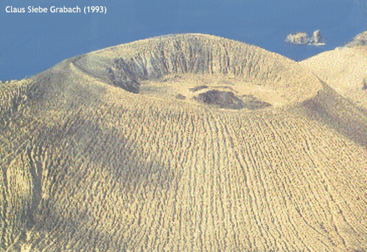 volcán bárcena Baja California Sur