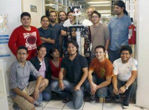 justina robot UNAM