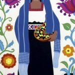 Carlos Mérida grabados trajes típicos regionales mexicanos