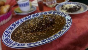 Platillo mexicano tradicional, mole poblano