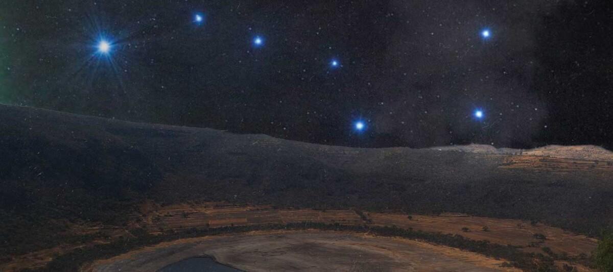 estrellas, osa mayor, constelacion