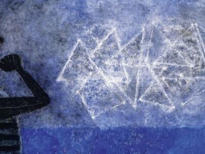 cuadro o pintura del pintor mexicano la gran galaxia del pintor mexicano Rufino tamayo