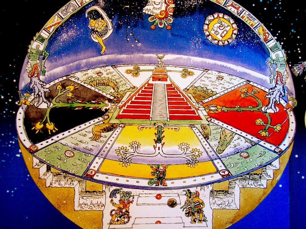 El mito azteca de los trece cielos, una metáfora sobre la composición del universo