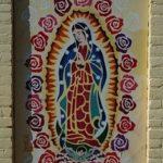 arte callejero graffiti virgen de guadalupe