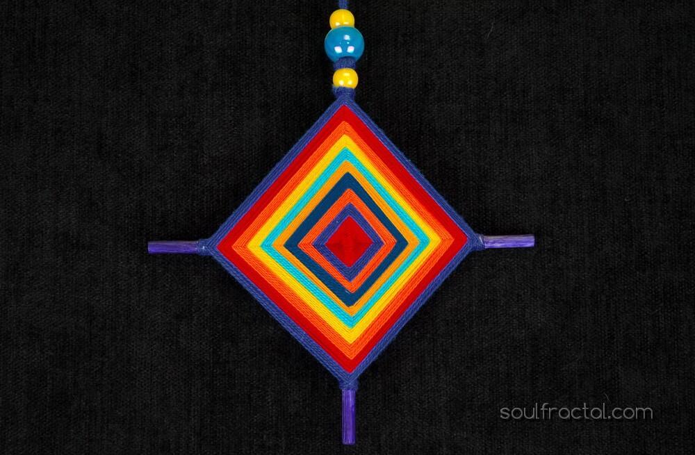 ojo de dios huichol