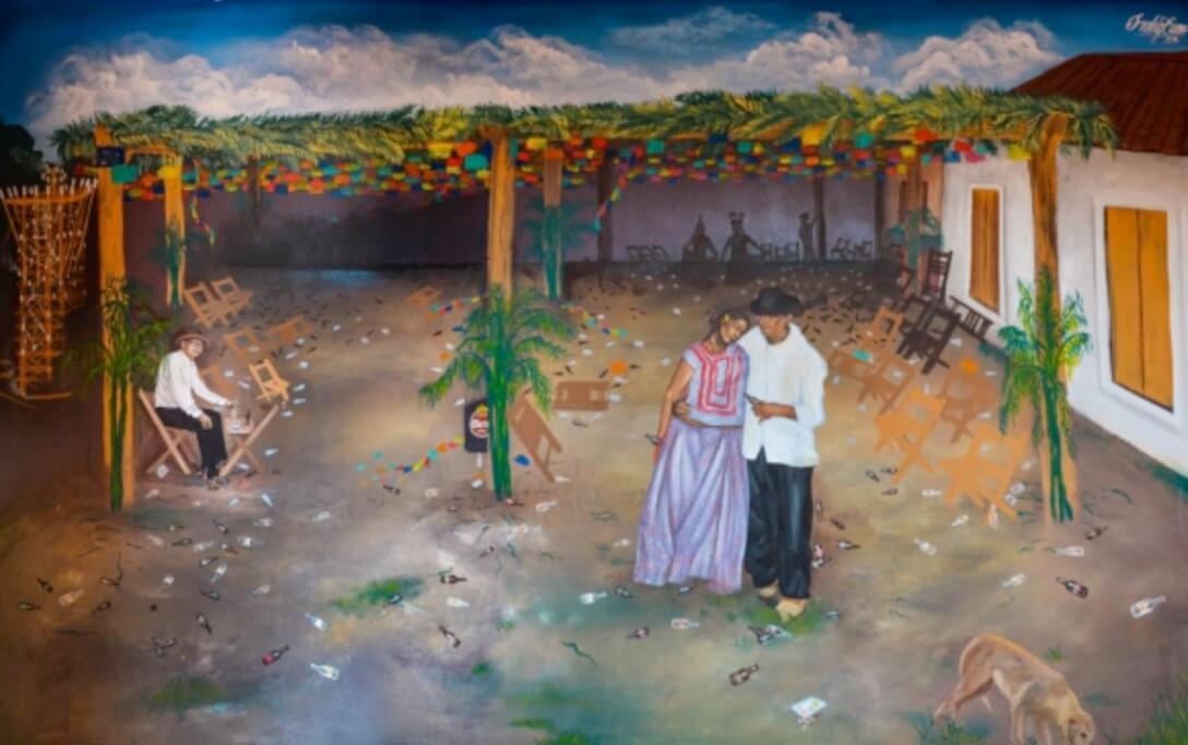 murales Irving Cano zapoteco