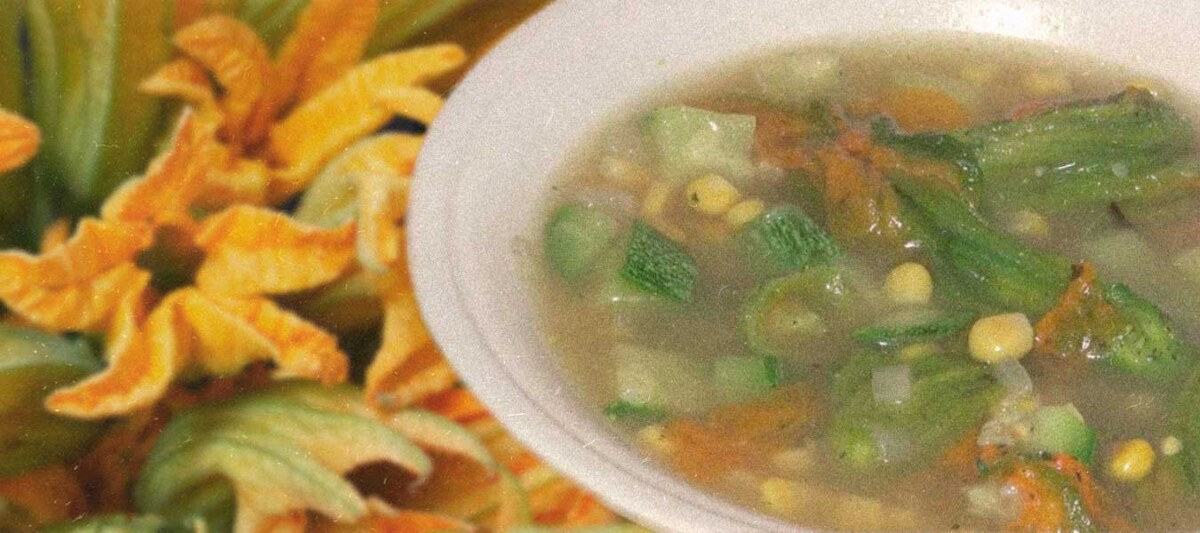 flor de calabaza, receta mexicana, gastronomia mexicana