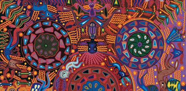 arte textil huichol artes de mexico