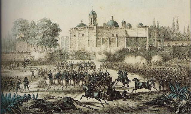 batalla de churubusco batallón de san patricio
