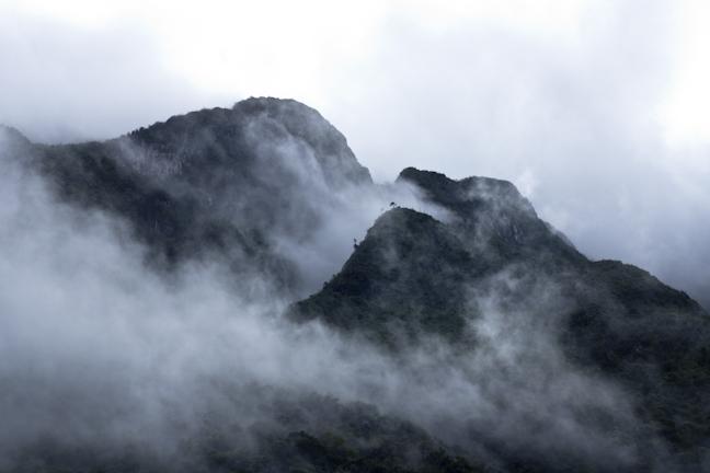 graniceros montañas
