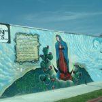 virgen de guadalupe graffiti museo de las américas