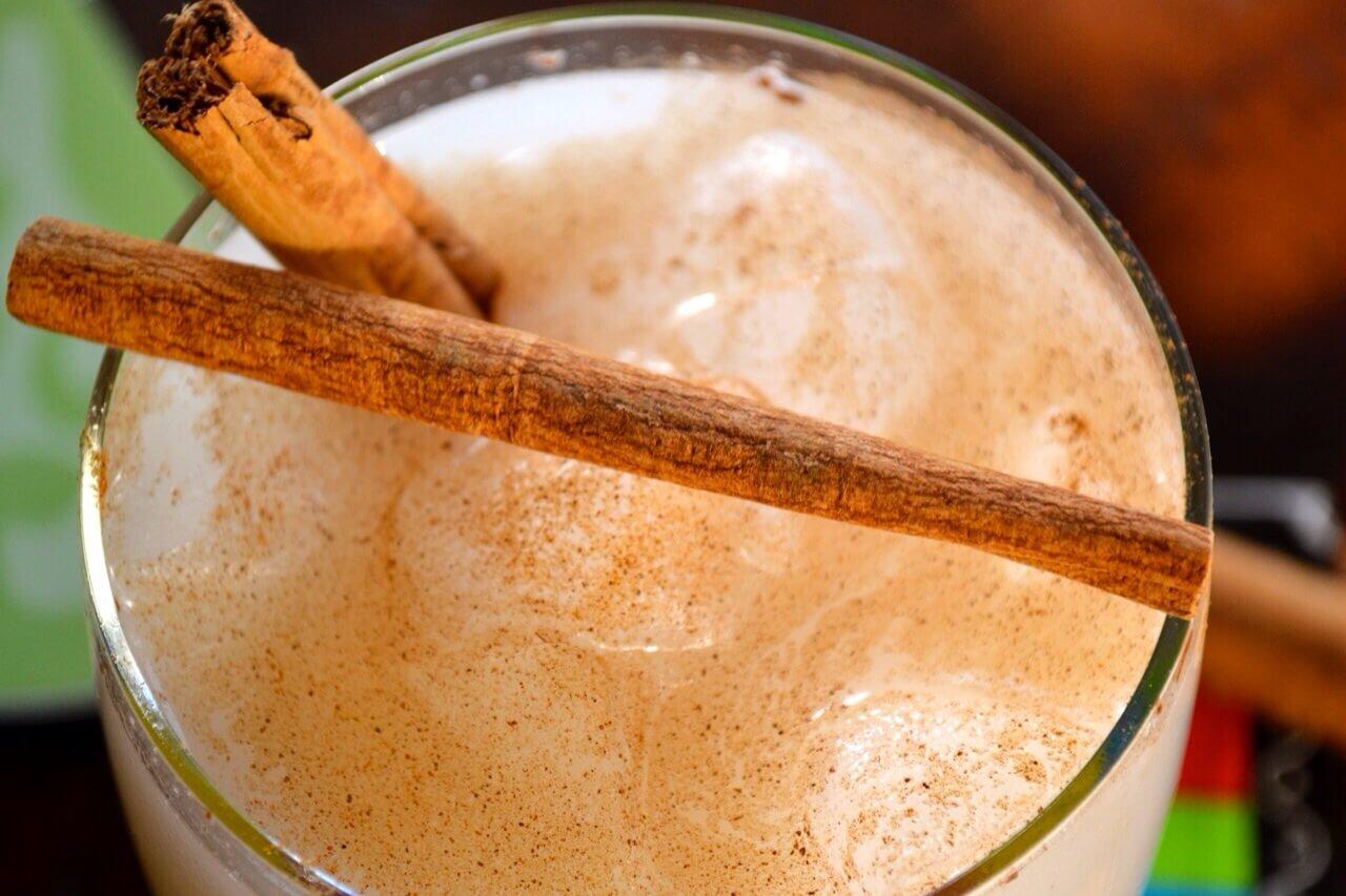 agua de horchata de amaranto