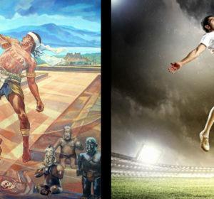 comparativo entre juego de pelota prehispánico y el futbol actual