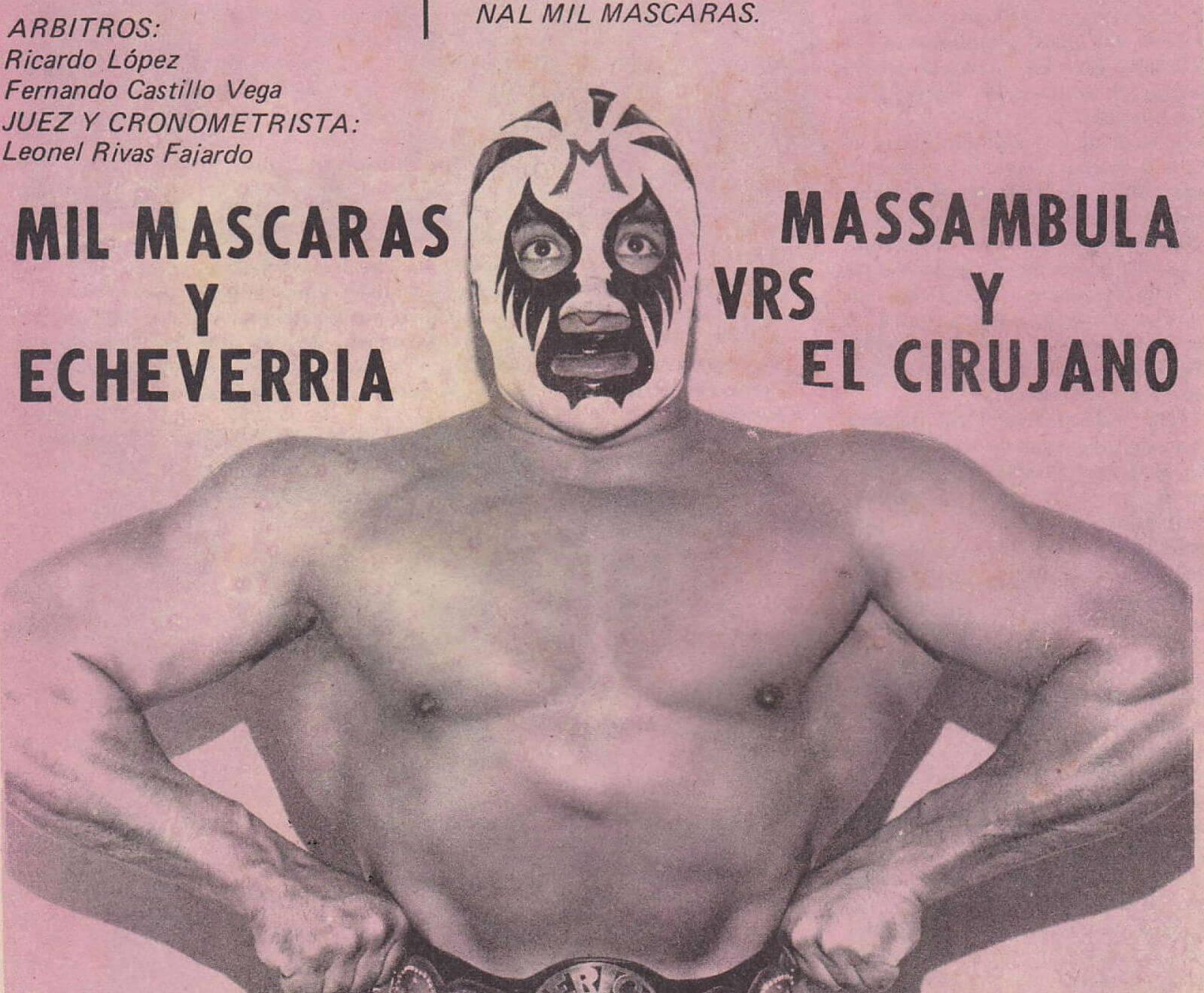 carteles viejos lucha libre