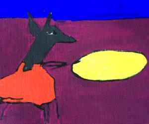 Ilustración mito totonaca del diluvio por ana paula de la torre