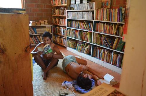 biblioteca de mazunte
