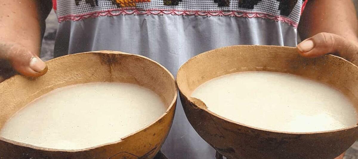 Pozol blanco, pozol receta, recetas prehispanicas