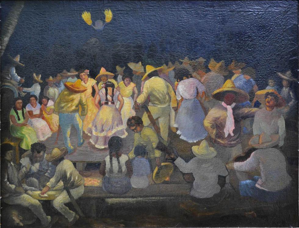 Baile en el Palenque cano manilla