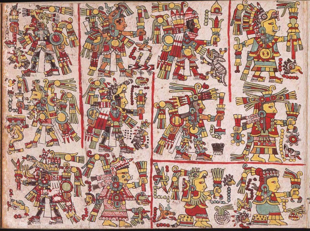 Materiales, formas y colores de los códices prehispánicos
