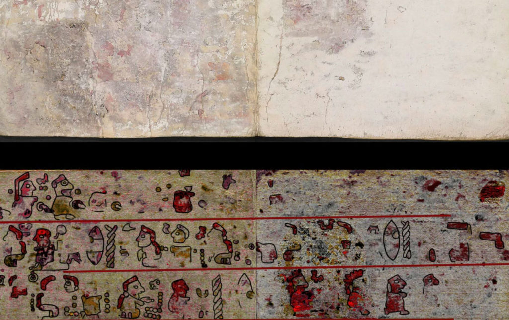 Descubren códice secreto oculto en el Códice Selden (VIDEO)