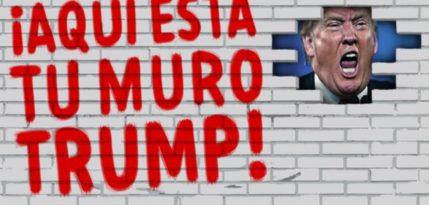 mexicanos contruiran muro campana trump