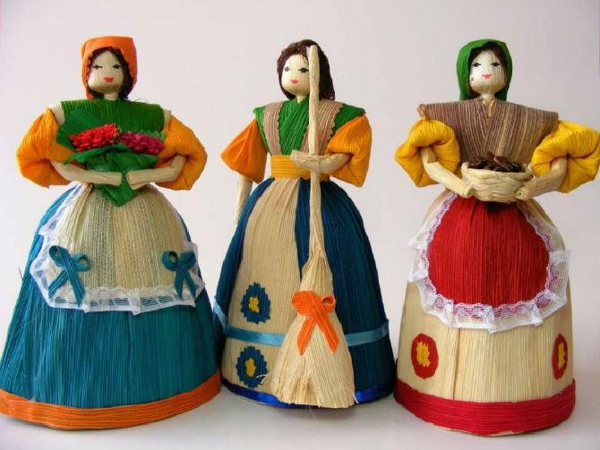 muñecas de tusa