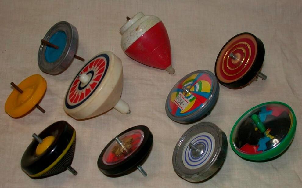 pirinola juguetes mexicanos
