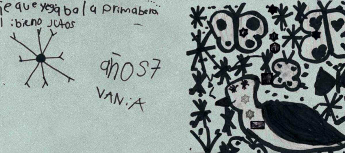 dibujos, sueños, niños de Oaxaca