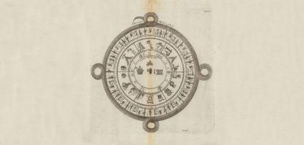 calenadrio prehispanico ilustracion antigua