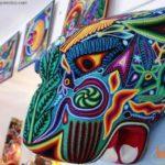 Cabeza de jaguar exhibida en Puerto Vallarta. Foto: Travel México.