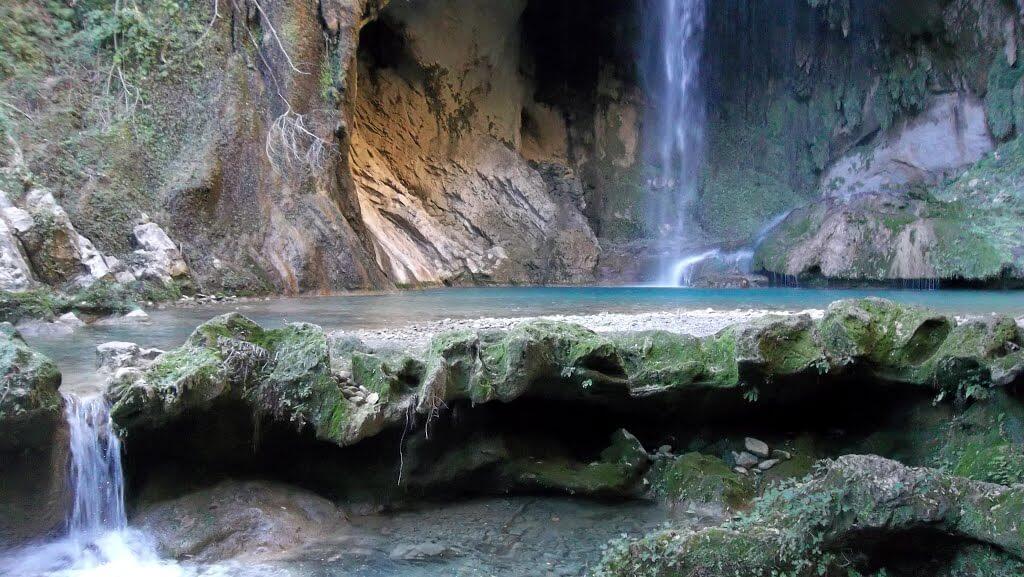 cascada cañón chipitin