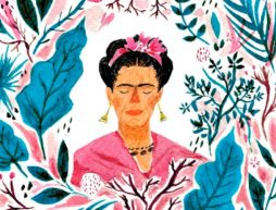 ilustraciones frida kahlo Zena Alkayat