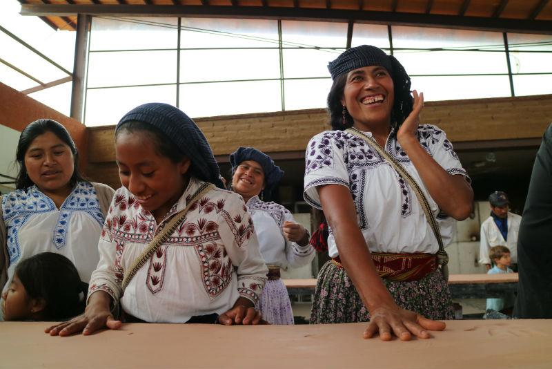 mixes visitan raramuri sierra tarahumara