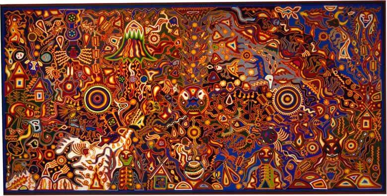 La visión de Tatutsi Xuweri Timaiweme de José Benítez Sánchez, colección MNA