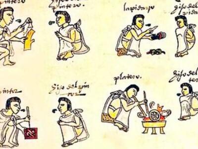 personajes vida cotidiana tenochtitlan