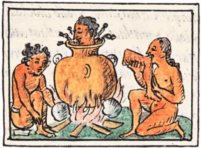 antropofagia mexico antiguo