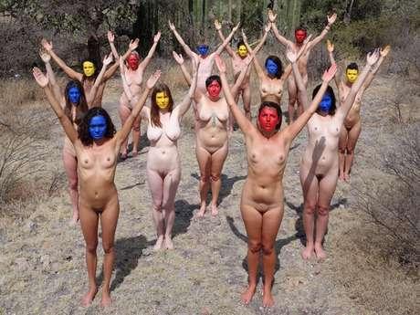 Un Recorrido Por Los Desnudos De Spencer Tunick En México Fotos