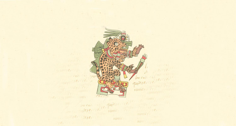 Imagen de dios jaguar para ilustrar el cuento de borges la escritura de dios